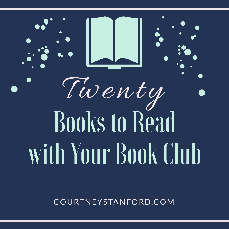 20 Books to Read with Your Book Club