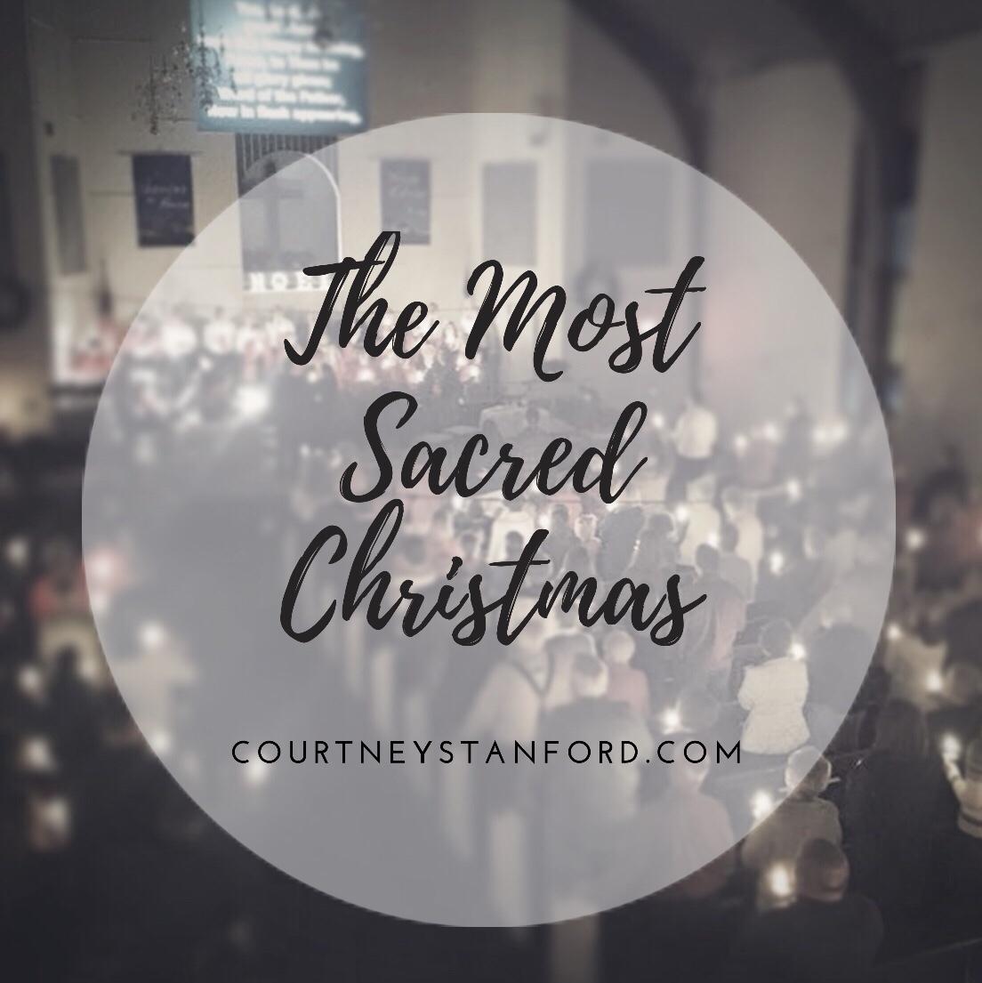 The Most Sacred Christmas Series