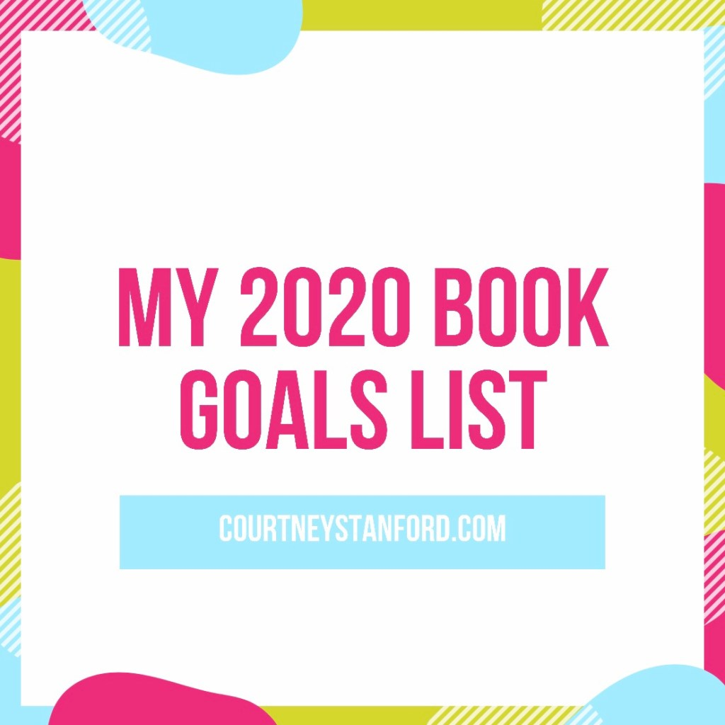 My 2020 Book Goals List