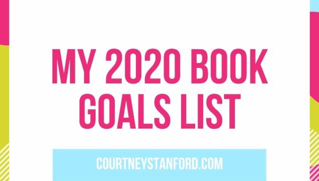 My 2020 Book Goals List
