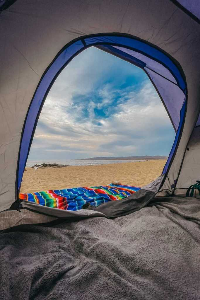 camping on the beach in Mayto, Mexico - 1.5 hours from Puerto Vallarta