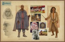 Earthsea - Gont costume Coming of Age concepts | Digital, 2015