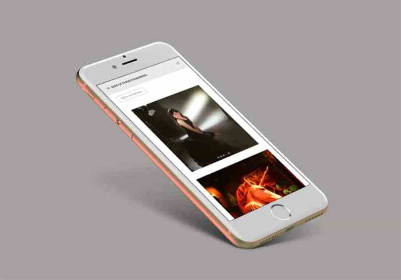 IPhone site have-guts-photographies.com