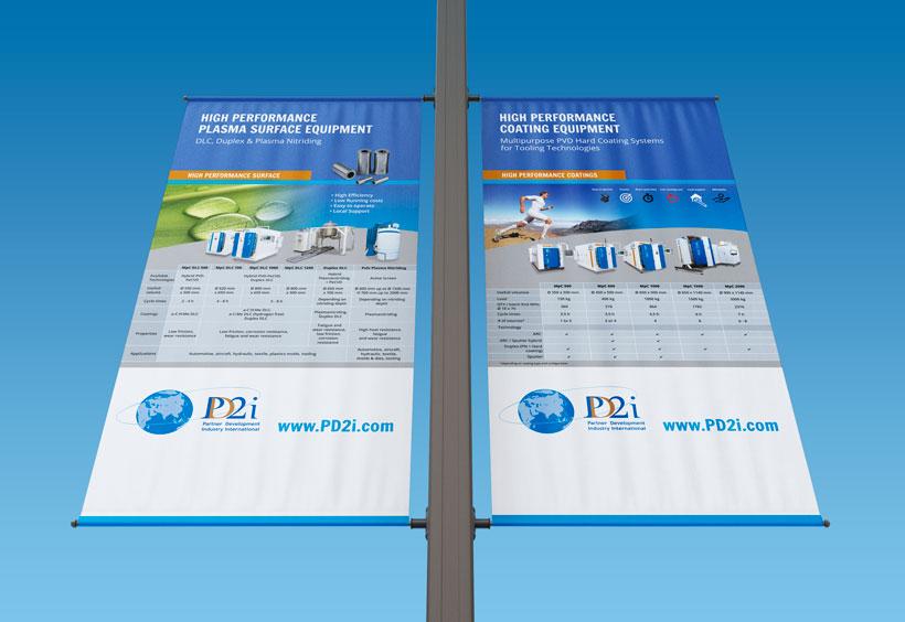 communication print banners