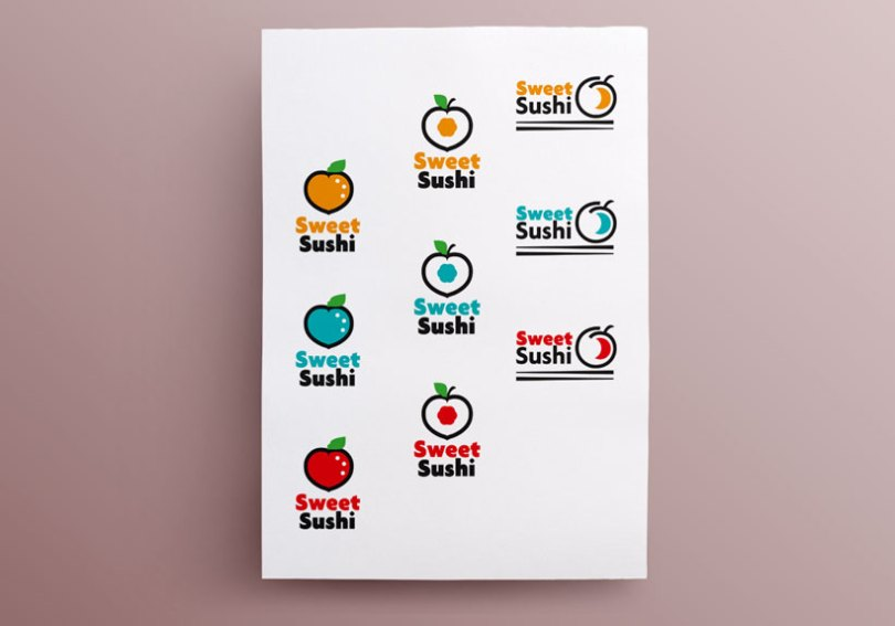 propositions logos sweet sushi