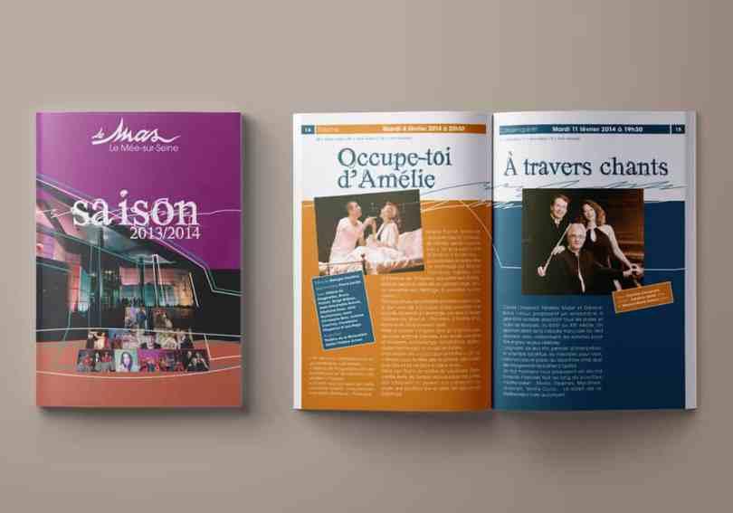 programme culturel le Mas au Mée-sur-Seine saison 2013-2014