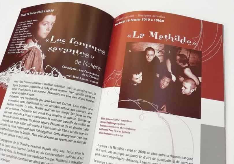 programme culturel le Mas au Mée-sur-Seine saison 2010