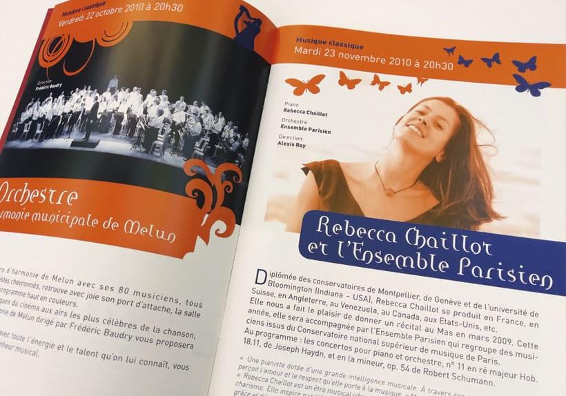 programme culturel le Mas au Mée-sur-Seine saison 2009