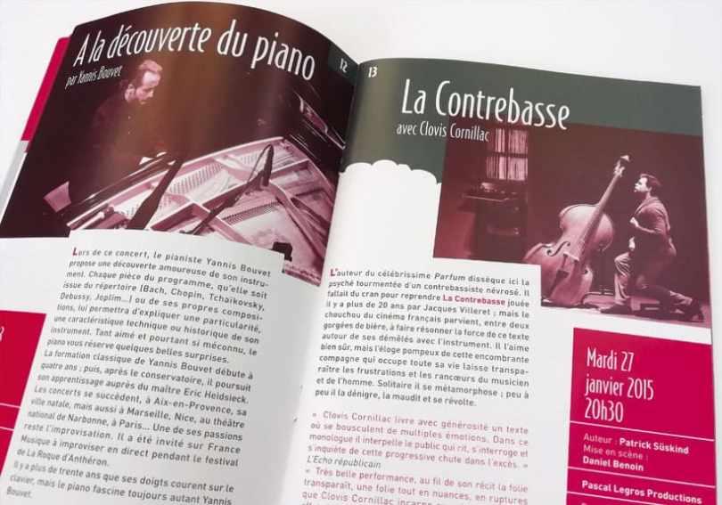 programme culturel le Mas au Mée-sur-Seine saison 2015