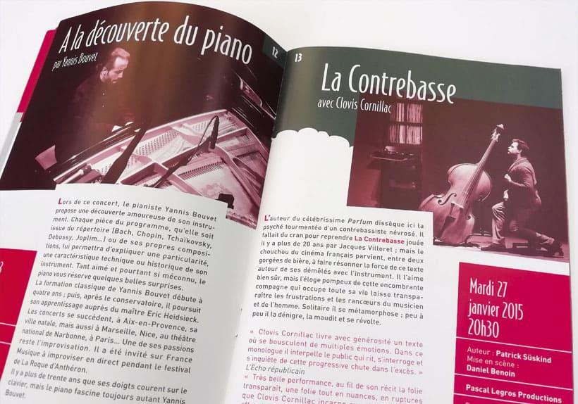 Programmation culturelle le Mas au Mée-sur-Seine saison 2015