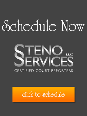 Click Here to Schedule a Deposition