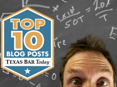 Top 10 Texas Bar Today graphic