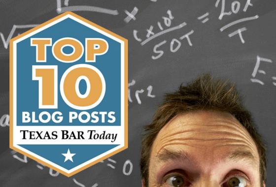 Top 10 Texas Bar Today graphic