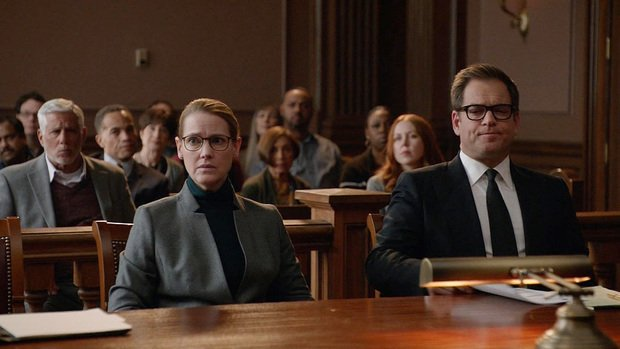 Dr. Bull at counsel table with client Dr. Julia Martin