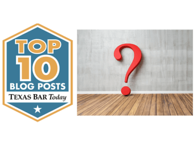 Texas Bar Today Top 10 Blog