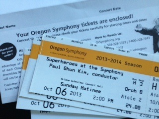 Superheroes at the Symphony!