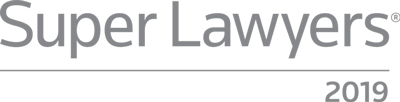 2019 Super Lawyers logo