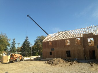 Roof Trusses 10-25-2013