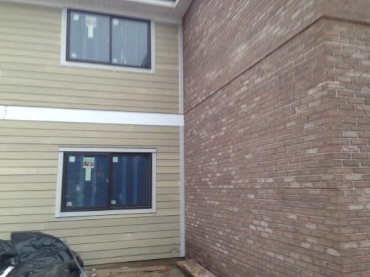 Siding and Brick Exterior 12-20-13