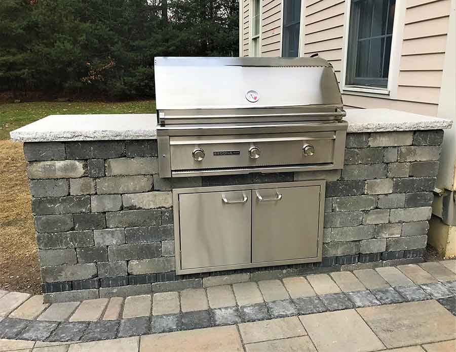 add an amazing built in grill to your