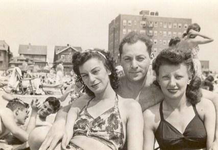 Edith Landes, Mortimer Landes, Pearl Blush Landes (via Joel Landes)