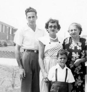 Stanley Kerstman, Marcia Kerstman Landes, Anna Lepianksi Kerstman, Joel Landes (via Joel Landes)