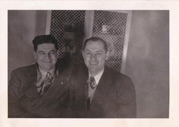 Herbert Landes and Morty Landes via Paul Landes