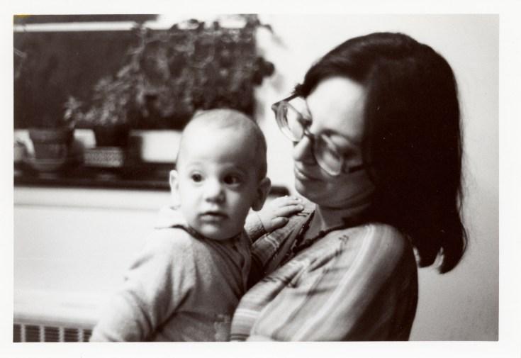 Shari Berman Landes and Harlan Landes, 1976 (via Joel Landes)