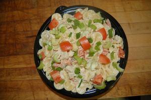 Catered Bowtie Chicken Pasta Salad