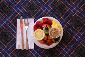 Seasonal Fruit Bowl with Saboyan & Granola