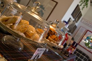 Muffins, Danishes and Scones
