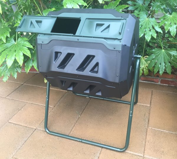 mr. spin compost tumbler