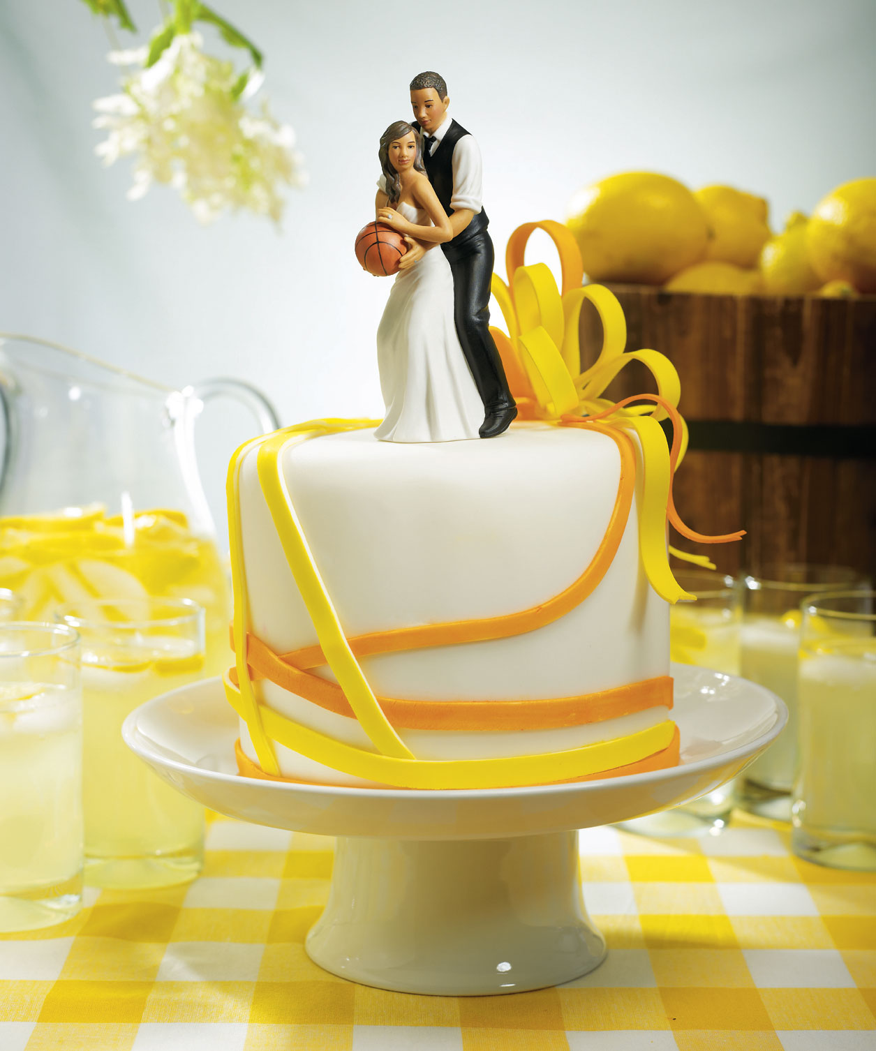 couture chair covers and events dance song jewish basketball dream team couple sports wedding cake topper - bridal