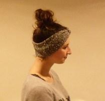 turban de fêtes porté 2