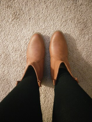 I am obsessed with my new boots