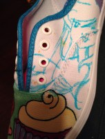 Hand Drawn Shoes