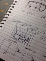 Design planning, custom Bag
