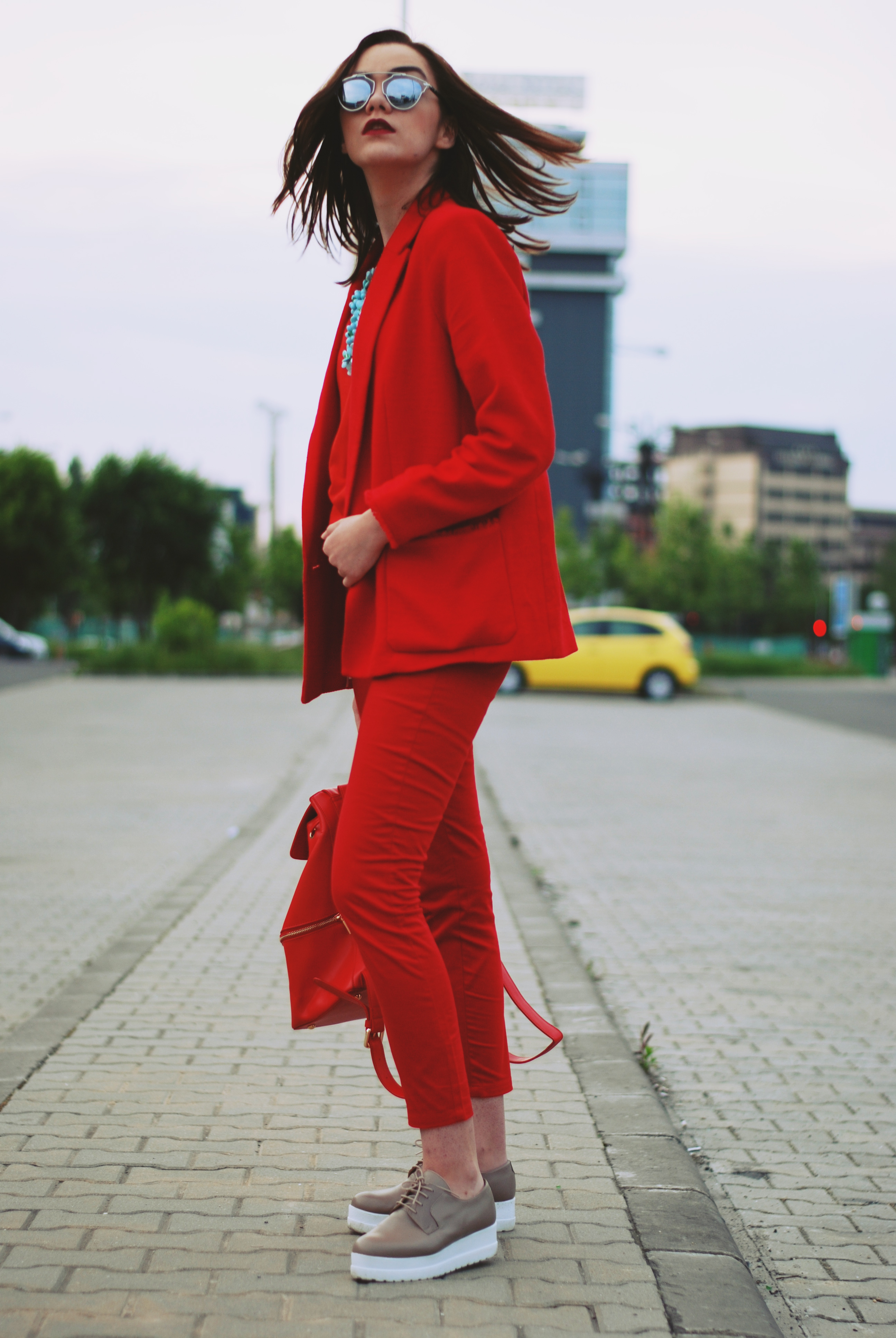 The Urban Red Outfit Couturezilla