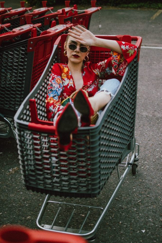 Boohoo floral print red kimono dress, distressed mom jeans, knee ripped zara jeans, the best zara jeans, slim fit boyfriend jeans, light wash topshop jeans, red suede slingback shoes, kitten heel shoes, orange shoes, how to wear slingback shoes, slingbacks, woven bag, basket bag, raffia bag, mini bag for summer, the best basket bags for summer, silk stripe scarf, h&m mini oval sunglasses, andreea birsan, couturezilla, cute spring outfit ideas 2018, ray ban inspired sunglasses, oval sunnies, gold hoop earrings, groceries cart photoshoot, editorial, chinese inspired dress, floral wrap dress, red satin dress, wrap kimono dress with floral print, flower print, how to wear a dress over jeans, dress and jeans outfit ideas, dress and jeans spring outfit, mini red dress, bun, kimono dress, soap bubbles, how to look Parisian chic, European summer street style inspiration for women 2017, pinterest chic outfit ideas for woman, summer outfit ideas, summer ootd inspiration, outfit of the day, ootd, fashion icon, style inspiration, fashionista, fashion inspiration, style inspo, what to wear in summer, how to look French, chic on a budget, zara outfit, mango, topshop, asos, river island, forever 21, urban outfitters, how to mix high end pieces with luxury ones, zara and Gucci,outfit alternatives for summer, tomboy chic, minimal outfit, tumblr girls photos, pictures, happy girl, women, smart casual outfits, the best outfit ideas 2017, what to wear when you don't feel inspired, summer in Europe, weekend attire, uniform, French women in summer, European outfit ideas 2017, minimal chic outfit, how to stand out, the best outfit ideas for summer, the sunglasses you have seen everywhere on Instagram, glasses, uk fashion blogger, united kingdom, uk fashion blog, fashion and travel blog, Europe, women with style, street style, summer fashion trends 2017, best fashion ideas, styling, fall fashion, fall outfit, fall ootd, fall perfect, transitional dressing, best transitional outfit ideas, how to wear statement earrings, dressing for autumn, autumn outfit, winter outfit ideas for work and school 2017