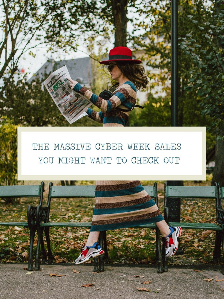 The massive cyber week sales, asos, topshop, h&M, shopbop, andreea birsan, couturezilla sales
