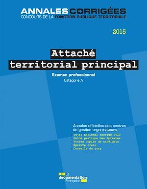 Examen Professionnel Attaché Principal 2015 : examen, professionnel, attaché, principal, Attaché, Territorial, Principal, 2015., Examen, Professionnel, EBook