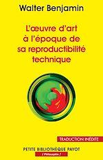 L'oeuvre D'art à L'époque De Sa Reproductibilité Technique Pdf : l'oeuvre, d'art, l'époque, reproductibilité, technique, Ebooks, Walter, Benjamin