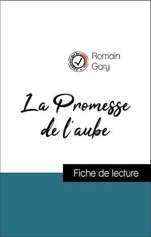 Romain Gary La Promesse De L'aube Résumé : romain, promesse, l'aube, résumé, Analyse, L'œuvre, Promesse, L'aube, (résumé, Fiche, Lect...