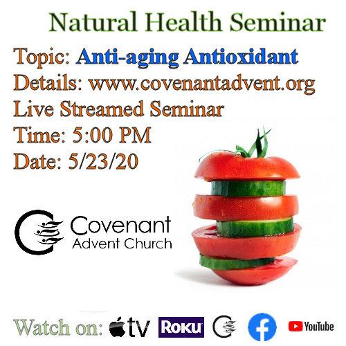 Anti aging antioxidant seminar