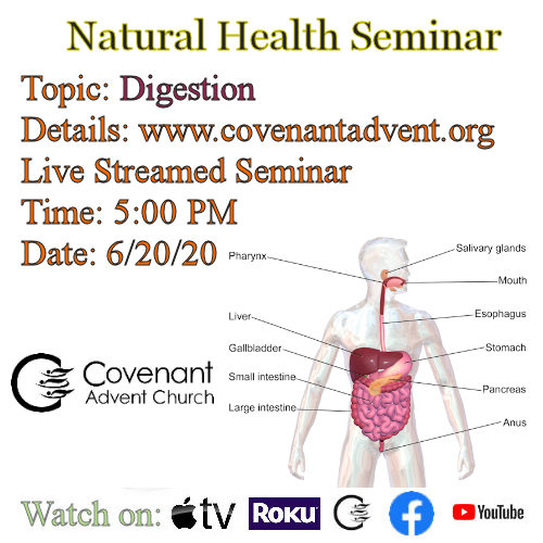 Digestion health seminar 6 20 20 5pm