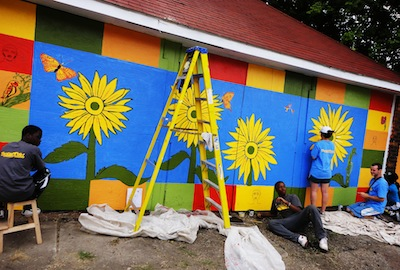 Art - Mural - Bright