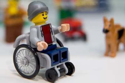 Five for Friday: Lego Wheelchairs, Ape Retirement, Robot Surgeons