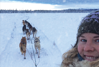 Mary Helwig - Iditarod March 5