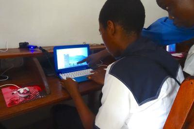 Congo Girls' High School Gets Computer Lab