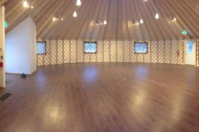 Newly Dedicated College Cultural Center in a Yurt